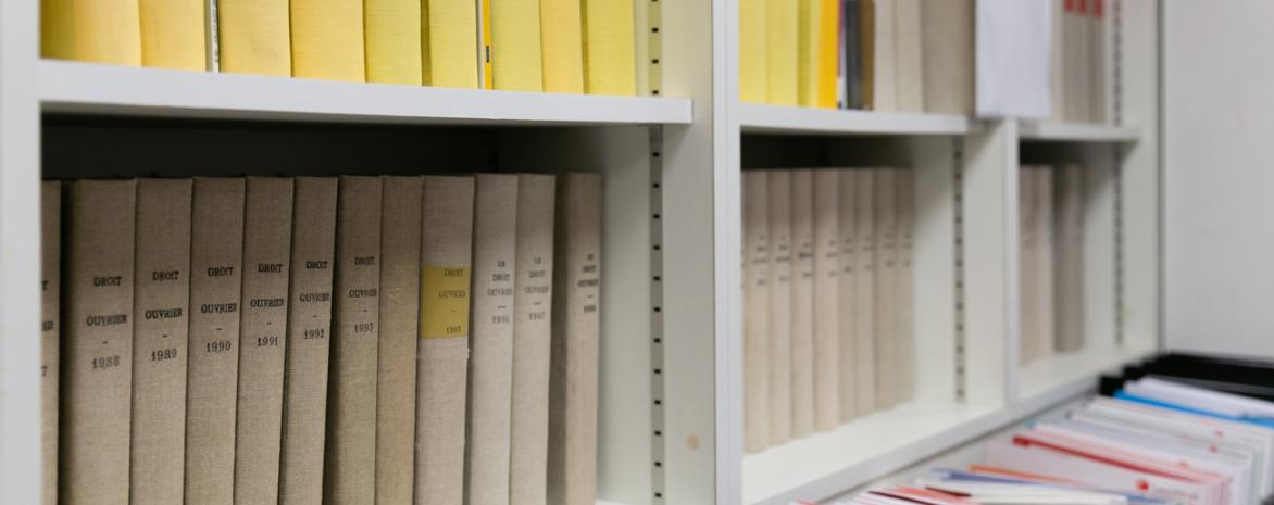 Photo de différentes publications du laboratoire de droit social