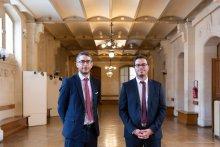 Les directeurs Emeric Jeansen et Julien Icard présentent le nouveau parcours PSR du master de droit social